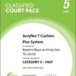 AcryflexT-Cushion-Plus-Certificate