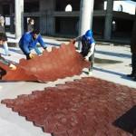 Kopyası blok kauçuk zemin kaplama-zenger