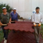 Kopyası blok kauçuk zemin kaplamaları