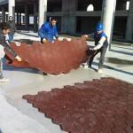 blok anti statik kauçuk zemin kaplama-zengerler