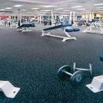 fitness spor salonu zemin uygulamaları