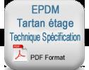 (fr)EPDM ترتان الطابق