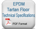 Epdm Tartan Floor Specifications